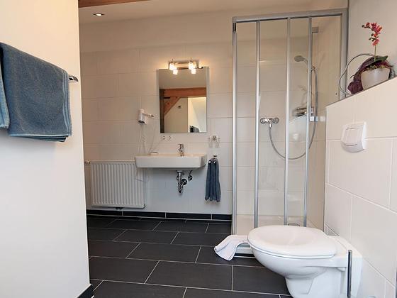 Badezimmer - Wohnen am Golfplatz Pleiskirchen